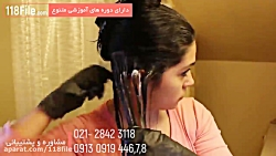 ترفندهای صاف کردن موها در یک دقیقه