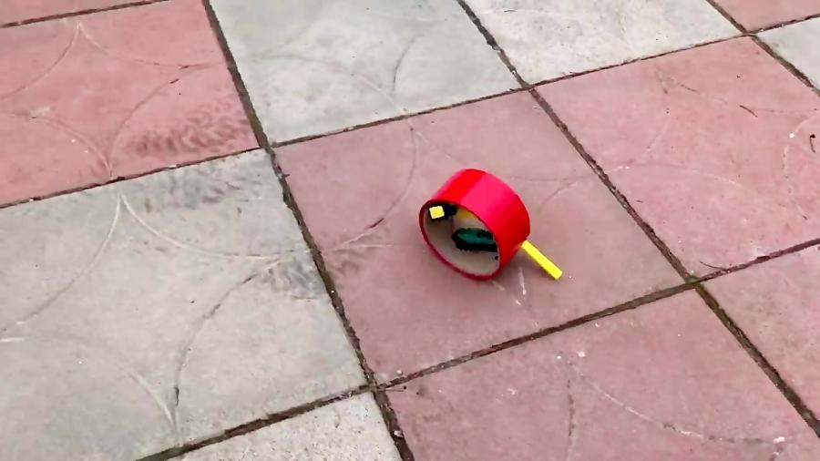 یادگیری ساختنی علمی ساده: ساخت ربات حرکتی!ساده