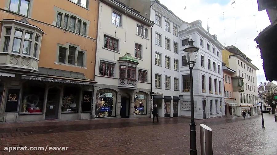 گزارش تصویری ایوار از شهر شفهاوزن در سوئیس