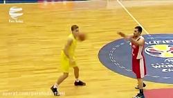صعود تیم ملی بسکتبال ای...