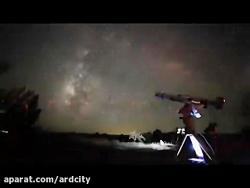 رصد ستارگان در کویر زوا...