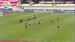 خلاصه بازی تراکتورسازی 1-0 پدیده (لیگ برتر ایران - 97 98)