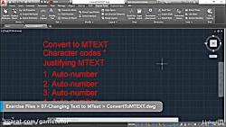 کورس AutoCAD - انتخاب اشی...