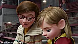 سینمایی انیمیشن سرنشینان Inside Out 2015 با دوبله فارسی | هدیه عید الزهرا فول HD