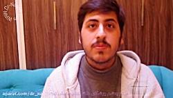رضایت عالی از کار کذاری لنز آرتیفلکس توریک در مرکز چشم پزشکی دکتر نادری