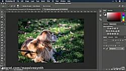 کورس Photoshop - ابزار انت...