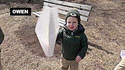 پرتاب رویایی: پرتاب های دیدنی هواپیمای کاغذی