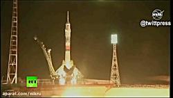 پرتاب موفقیت آمیز موشک سویوز MS-12 از پایگاه بایکونور قزاقستان