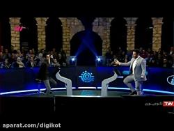 شوخی جالب محمدرضا گلزار با شرکت کننده مسابقه برنده باش