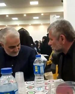 دیدار حاج قاسم سلیمانی ...