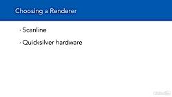 آموزش 3Ds Max - انتخاب رن...
