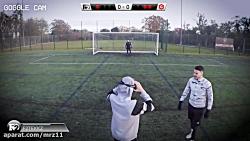 چالش پنالتی با دوربین واقعیت مجازی