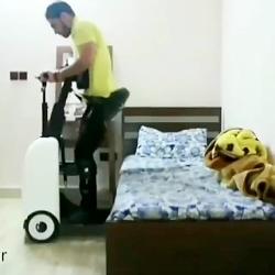 """ربات ایرانی کمک به معلولین """"ایستارو"""""""
