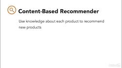دوره Machine Learning - توصیه های محتوا: توصیه بر اساس ویژگی های محصول...