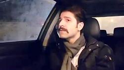 Hamid Hiraad - Enferadi (حمید هیراد - اجرای آهنگ انفرادی در ماشین)