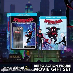 داغ: اسباب بازی و پوستر منتشر شده از انیمیشن مرد عنکبوتی به سوی دنیای عنکبوتی