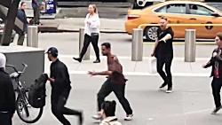 کتک کاری وحشیانه یانکی ها در نیویورک | آمریکا