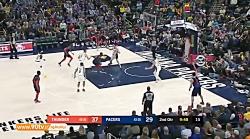 10 حرکت برتر بسکتبال NBA: جمعه 97 12 24