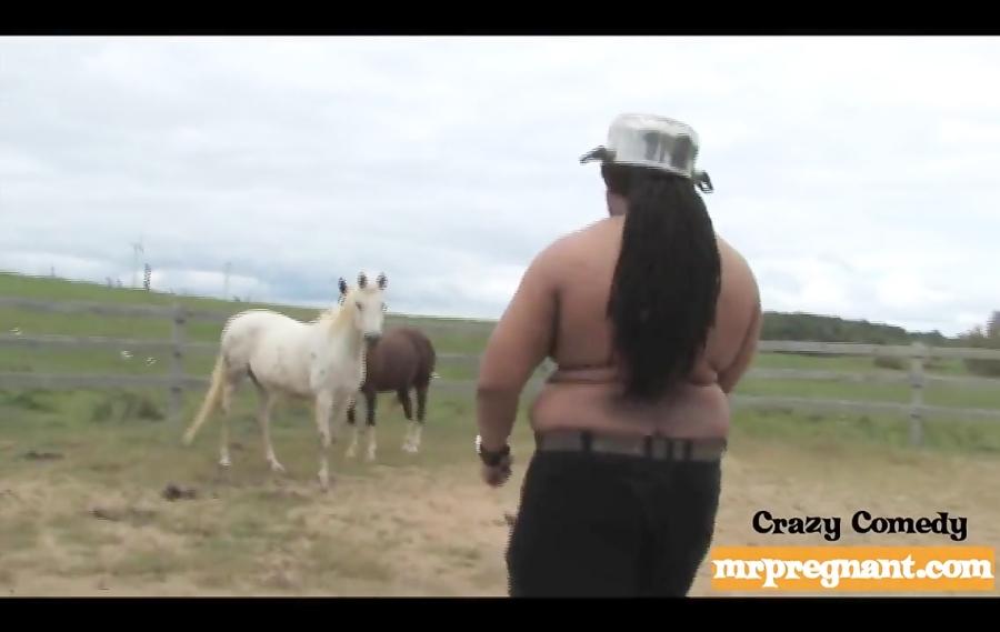 رابطه جنسی عجیب و غریب یک مرد در آمریکا با اسب