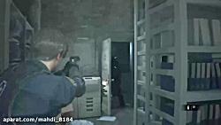 گیم پلی resident evil 2 remake | پارت 8 | لعنتی ولم کن!!
