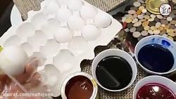 چند روش ساده برای رنگ آمیزی و تزئین تخم مرغ سفره هفت سین