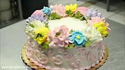 کیک آرایی - آموزش تزیین کیک