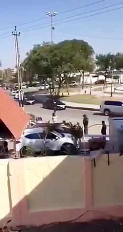 فیلم منتشر شده از اسکورت حسن روحانی در عراق