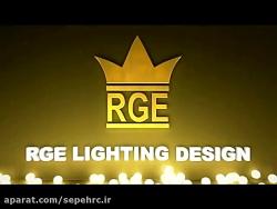 طرح نورپردازی نمای مرکز تجاری سپهر