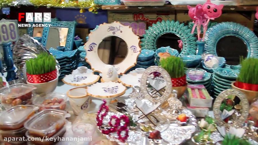 حال و هوای بازار شب عید ارومیه