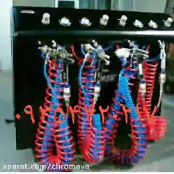 دستگاه آبکاری کروم  کروم استیل آبکاری پاششی09354420217