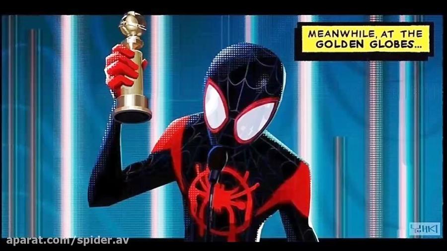 برنده جایزه گلدن گلوب ۲۰۱۹ انیمیشن مرد عنکبوتی به سوی دنیای عنکبوتی