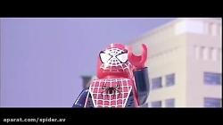 مبارزه لگویی مرد عنکبوتی و دکتر اختاپوس