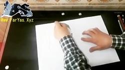نقاشی چهره یاس (کاری از ...