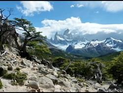 کوه پر زرق و برق ترین، زیبا مناظر کوه، ارتفاعات، قله،