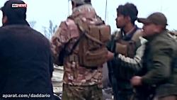گیر کردن خبرنگاران حین حمله انتحاری داعش در موصل