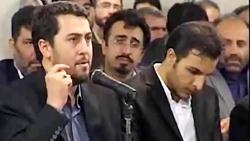 شعرخوانی احمد بابایی که اشک آقا را در آورد