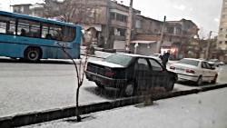 تاریخی ترین بارش تگرگ د...
