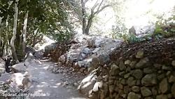 آبشار استهبان - صدای شرشر دلنواز چشمه آبشار استهبان