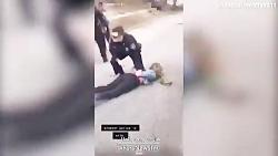 فیلم جنجالی از ضرب و شتم وحشیانه زن جوان توسط پلیس آمریکا