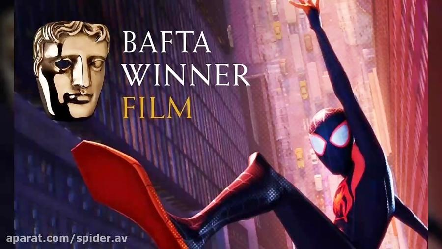 برنده جایزه بفتا ۲۰۱۹ انیمیشن مرد عنکبوتی به سوی دنیای عنکبوتی