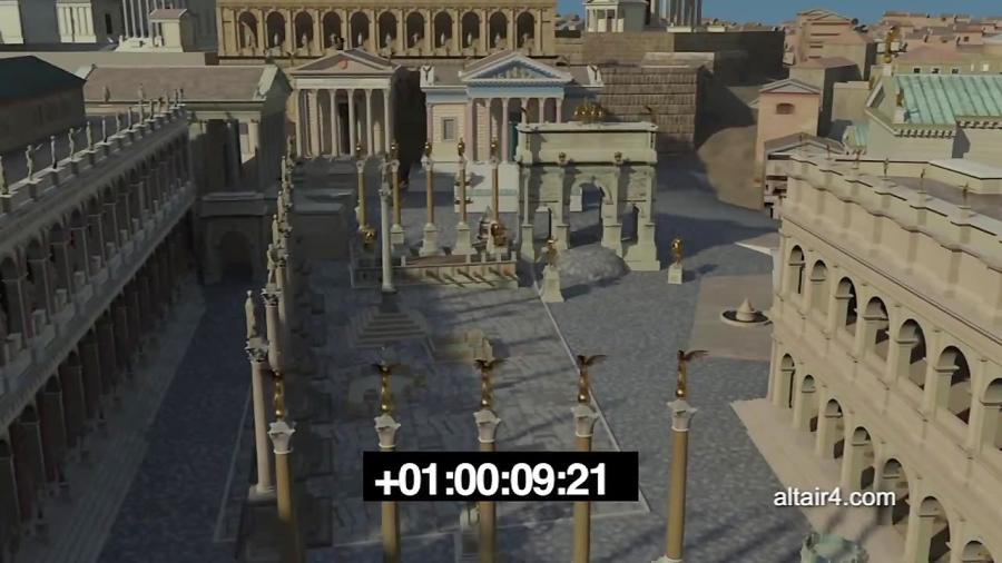 بازسازی کوریا جولیا در رومان فروم
