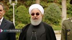 حسن روحانی_ بر آمریکا صهیونیست ها و حکومت های مرتجع منطقه لعنت کنید