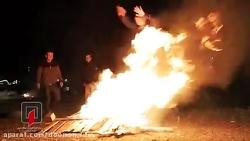 چهار شنبه سوری خطرناک و زخمی شدن چند جوان و کور شدن یک جوان در قزوین با نارنجک .