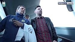 بازگشت لیونل مسی به تمرینات تیم ملی آرژانتین