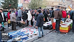 جنب و جوش مردم تبریز در آخرین روز های سال