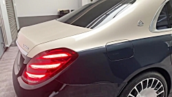 THE NEW TWO-TONE MERCEDES-MAYBACH S 560 4M...