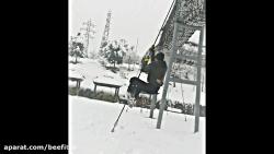 تمرین ورزشی در زمستان،...