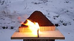 آتشفشان کبریتی: واکنش ز...