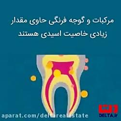 رنگ دندان خبر می دهد از ...