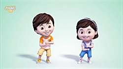 رقص انیمیشن وموزیک شاد ...
